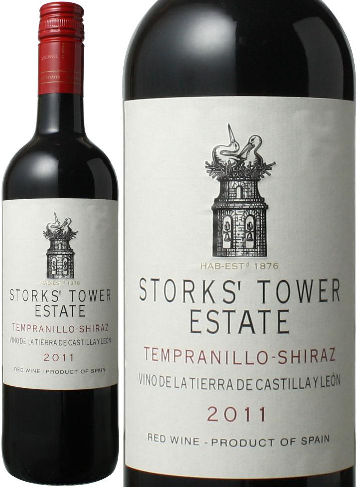 新色追加 お買い得品 ストークス タワー テンプラリーニョ シラーズ カスティーリャ イ ワイン ※ヴィンテージが異なる場合がございますのでご了承ください 赤 スペイン レオン 2017