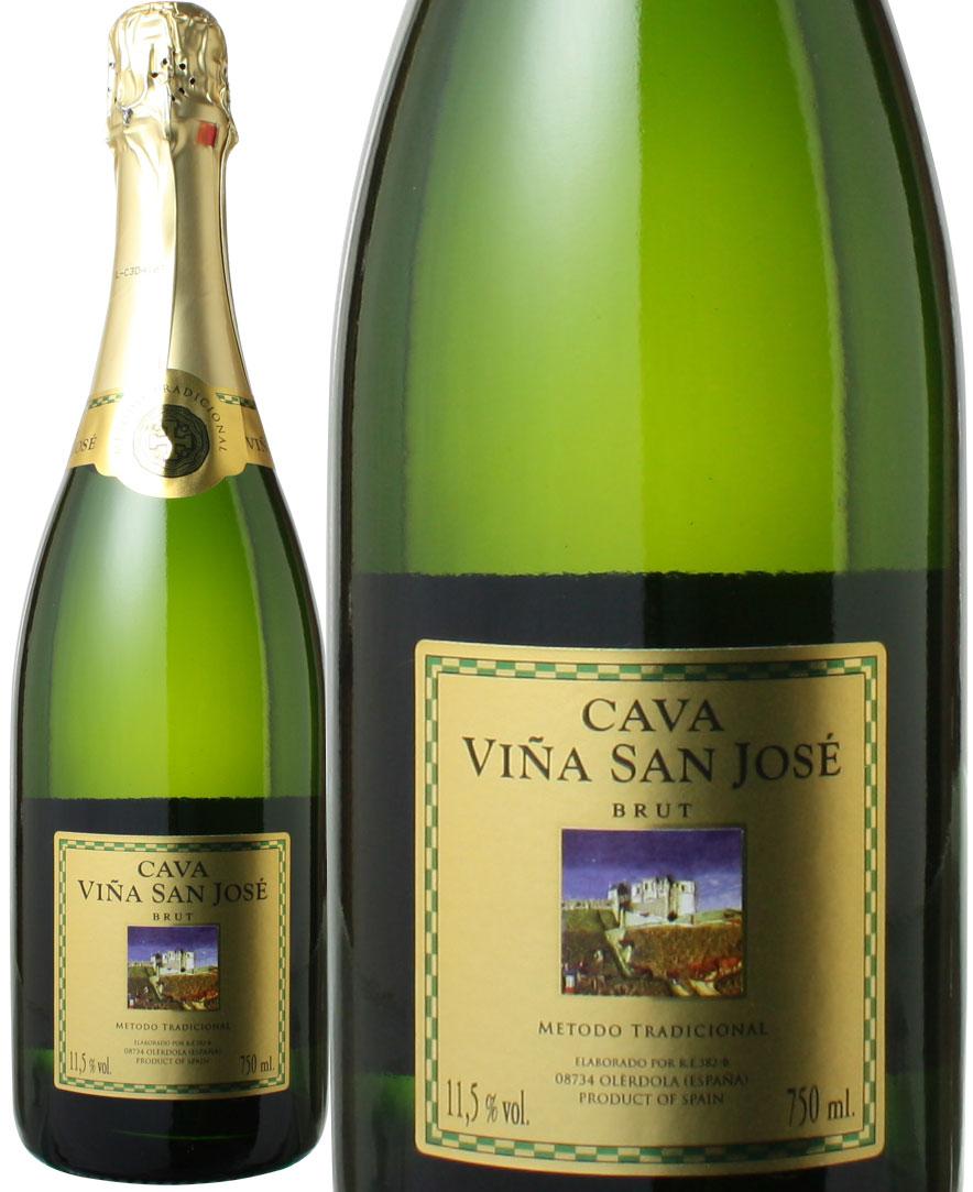 カヴァ ヴィーニャ サン ホセ 開店記念セール トレンド ブリュット スパークリング ワイン NV 白