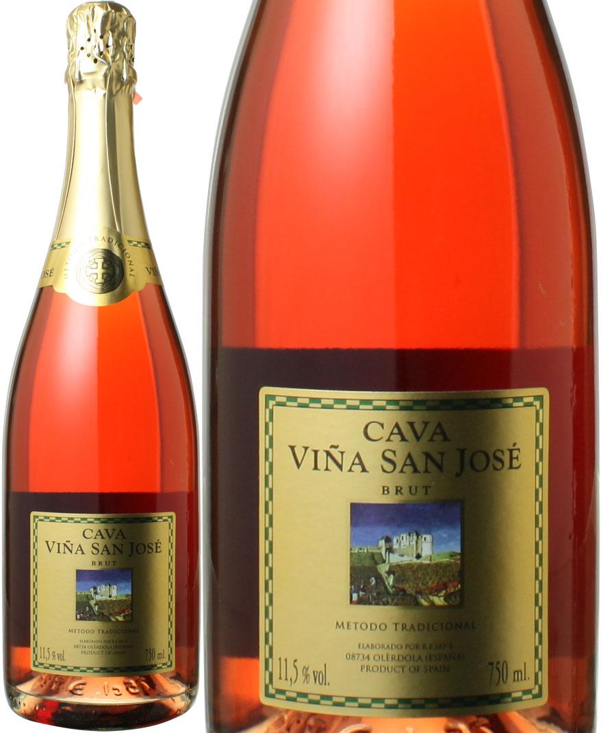 おうちで観戦SALE カヴァ ヴィーニャ サン ホセ ロゼ 在庫一掃売り切りセール スパークリング 当店通常税込価格1265円 低価格化 NV ワイン ブリュット