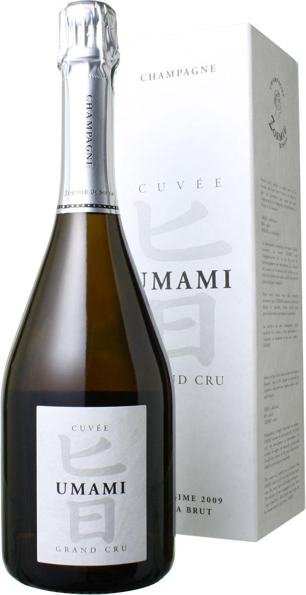 キュヴェ UMAMI(旨) グラン・クリュ [2009] ゾエミ・ド・スーザ <白> <ワイン/シャンパン>