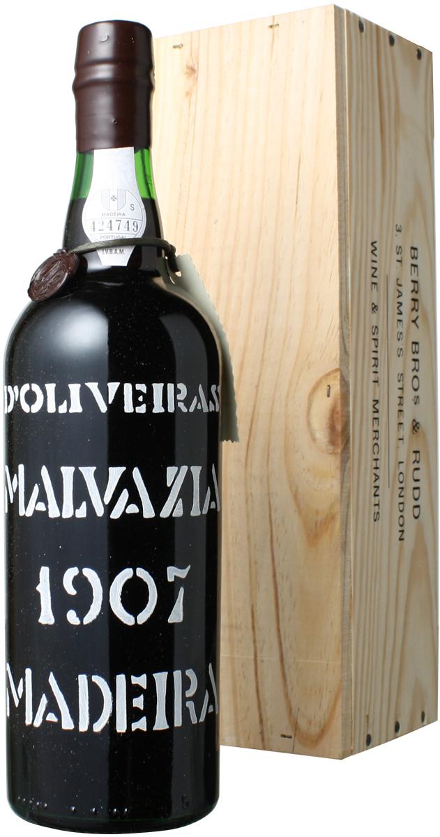 マデイラ マルヴァジーア [1907] ぺレイラ・ドリヴェイラ <白> <ワイン/ポルトガル>