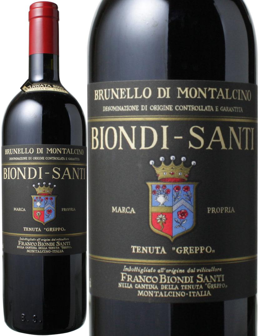 ブルネッロ・ディ・モンタルチーノ [2000] ビオンディ・サンティ <赤> <ワイン/イタリア>