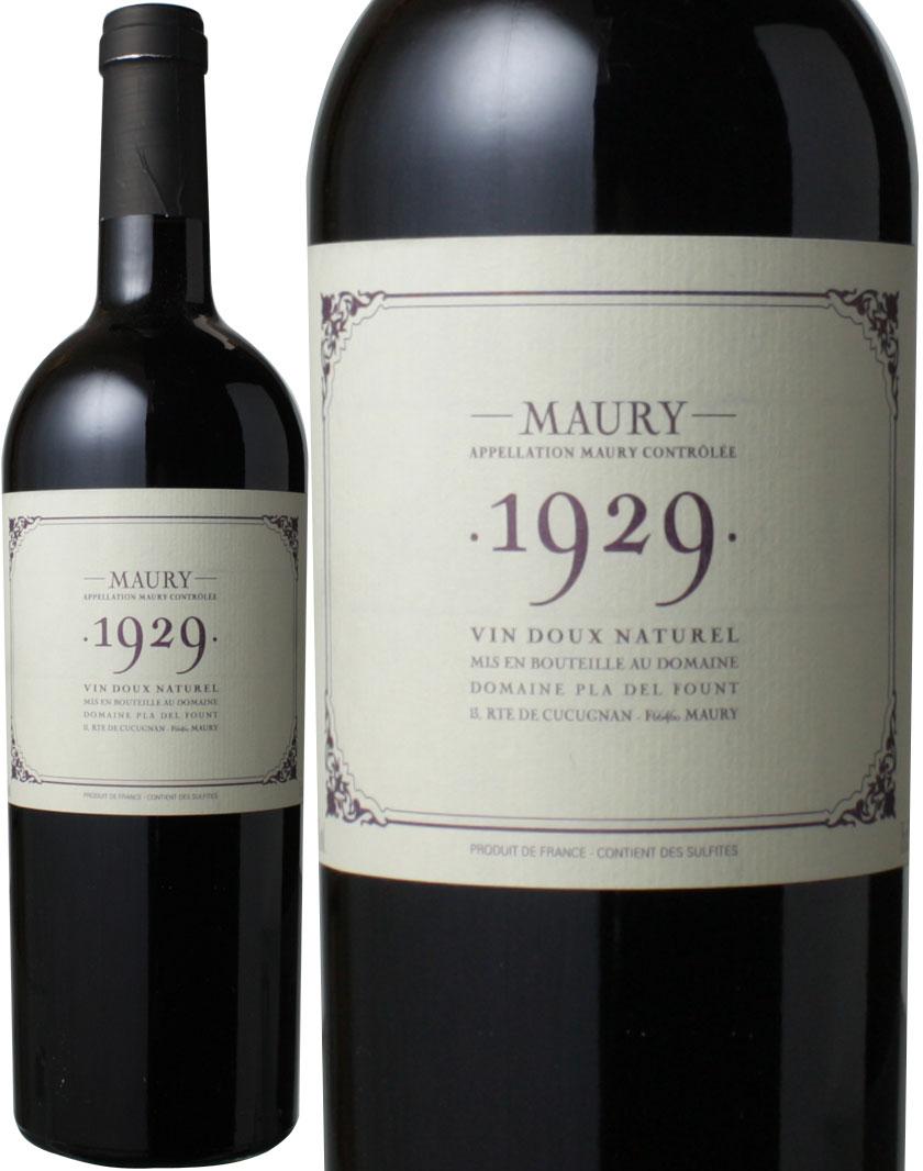 モーリー [1929] プラ・デル・フォント <赤> <ワイン/ラングドック・ルーション>