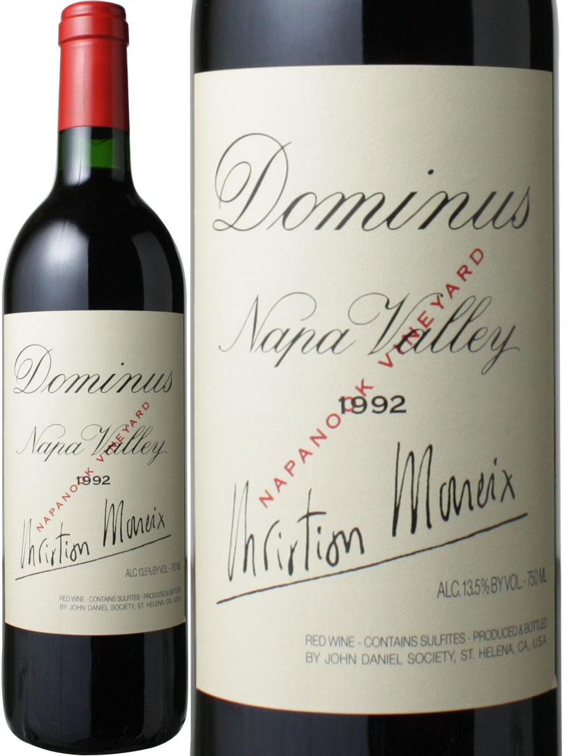 ドミナス・エステート [1992] <赤> <ワイン/アメリカ>