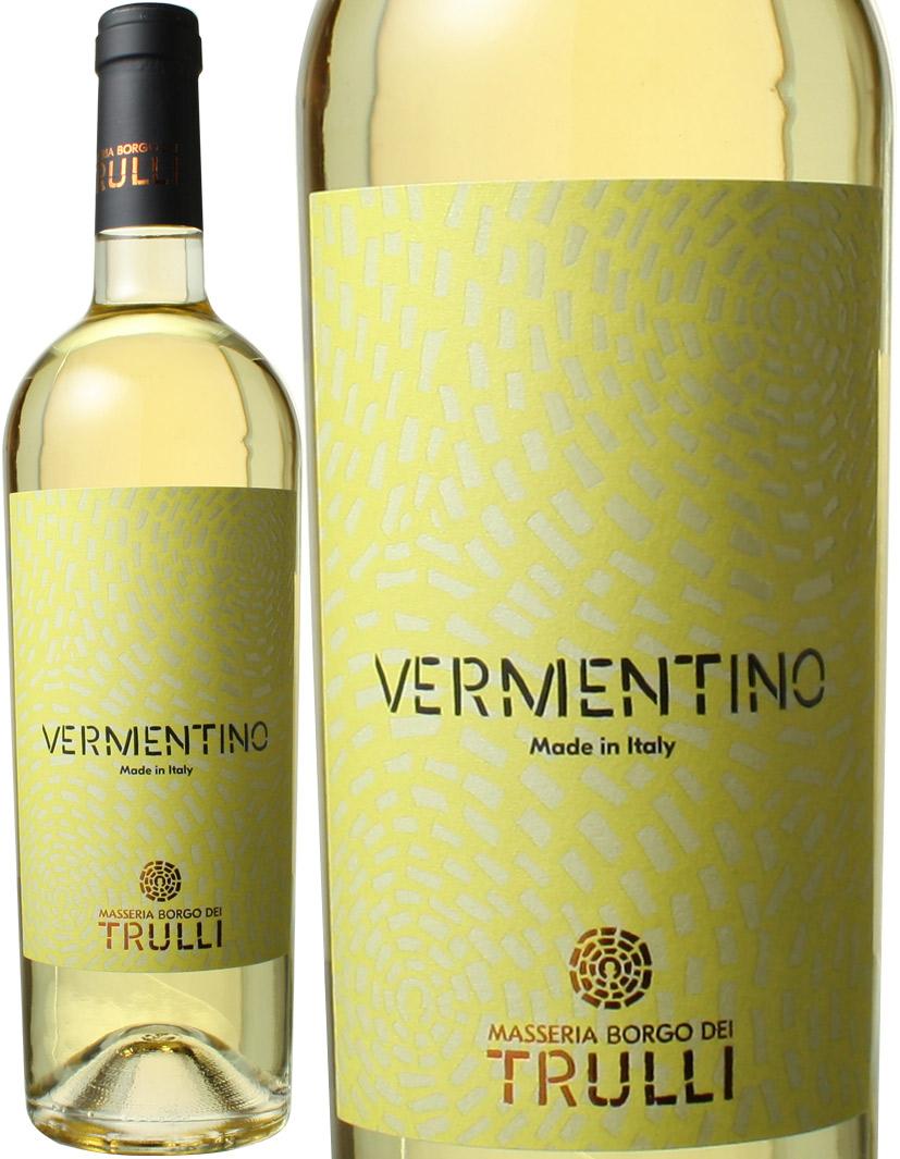 ヴェルメンティーノ 豊富な品 サレント 2019 輸入 トゥルッリ イタリア 白 ワイン