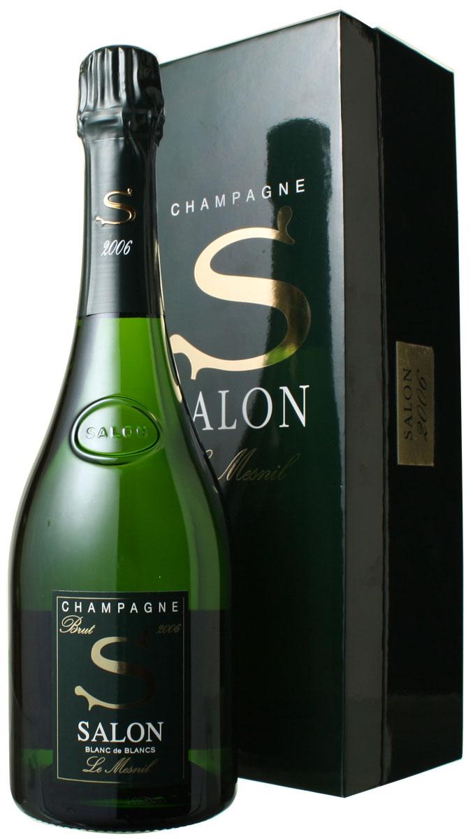 サロン ブラン・ド・ブラン ギフトボックス [2006] <白> <ワイン/シャンパン>