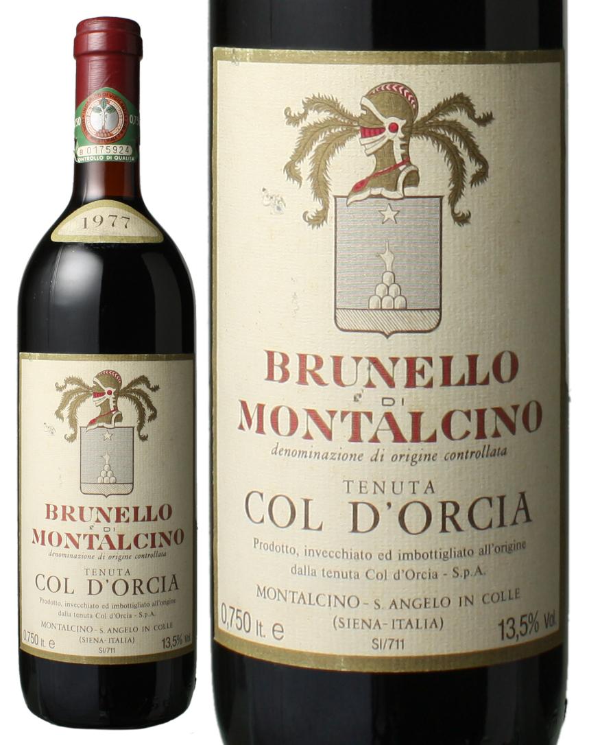 ブルネッロ・ディ・モンタルチーノ [1977] コル・ドルチャ <赤> <ワイン/イタリア>