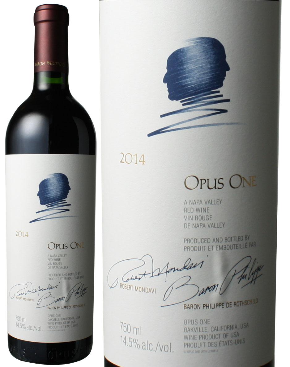 オーパス・ワン [2014] モンダヴィ&バロン・フィリップ <赤> <ワイン/アメリカ>