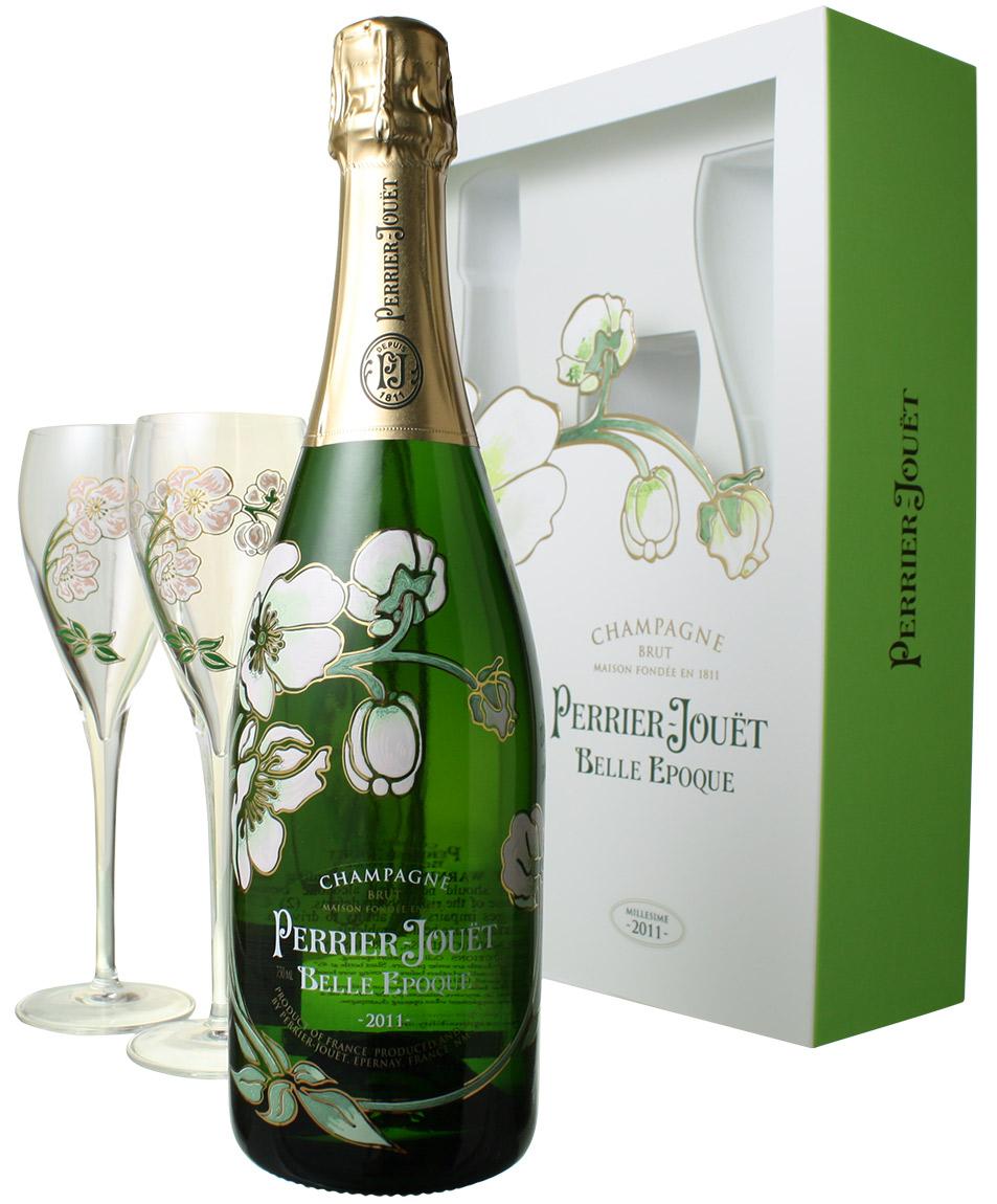 ペリエ・ジュエ ベル・エポック グラス付きセット [2011] <白> <ワイン/シャンパン>