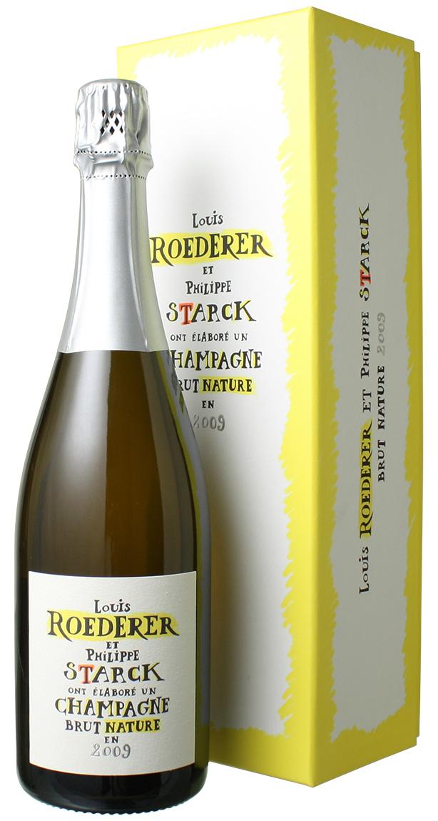 ルイ・ロデレール ブリュット・ナチュール フィリップ・スタルクモデル [2009] <白> <ワイン/シャンパン>