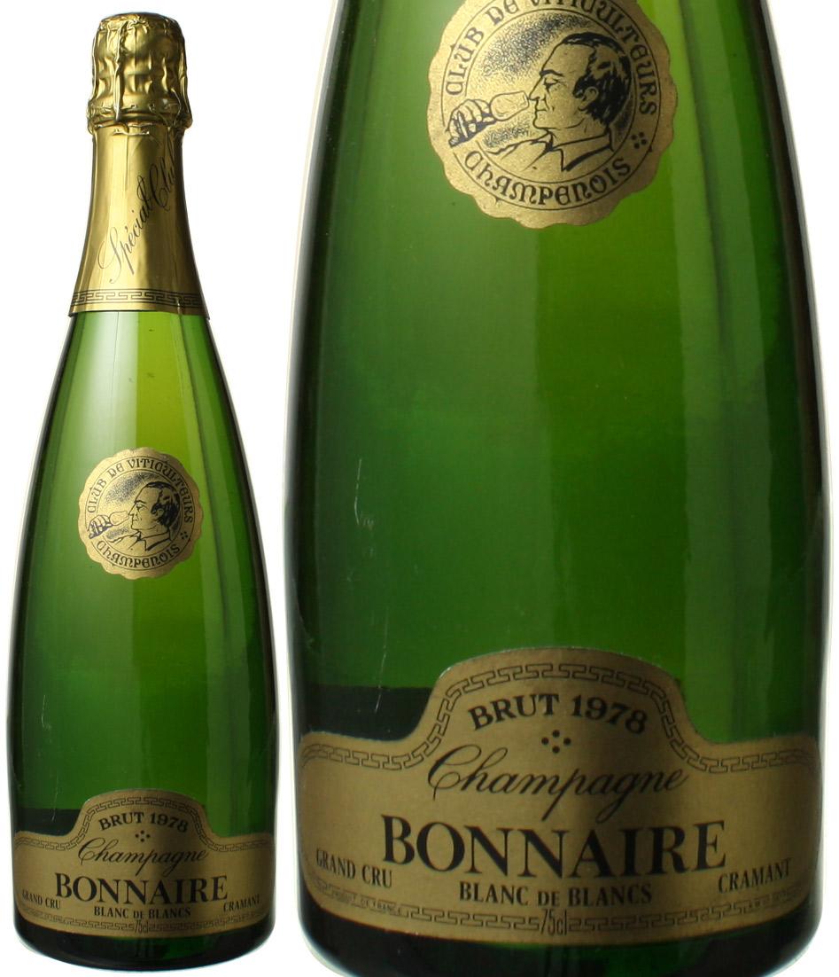ボネール ブラン・ド・ブラン クラマン・グラン・クリュ [1978] <白> <ワイン/シャンパン>
