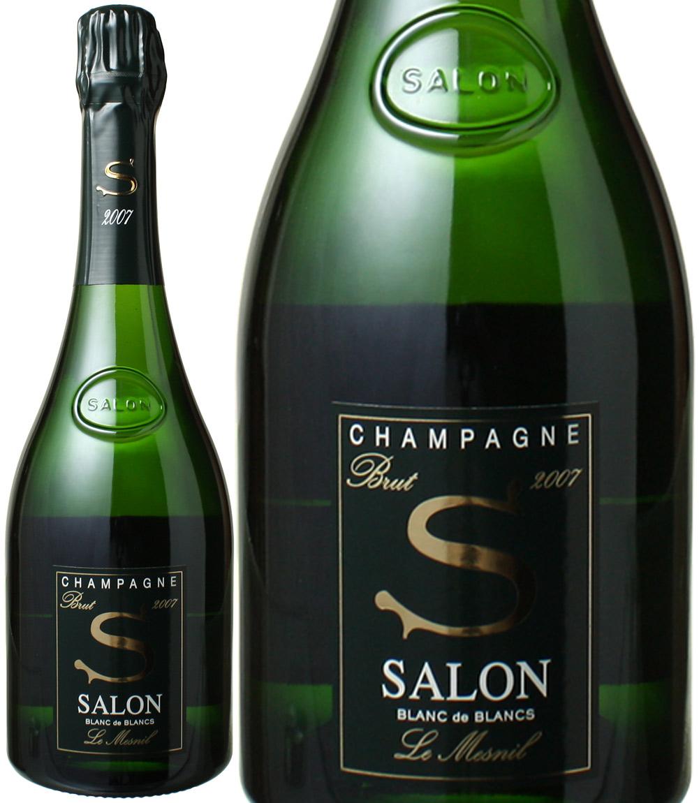 サロン ブラン・ド・ブラン [2007] <白> <ワイン/シャンパン>