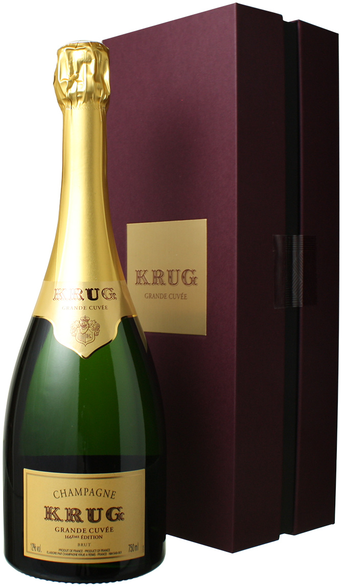 クリュッグ グラン・キュヴェ エディション166 ギフトボックス入り NV <白> <ワイン/シャンパン>