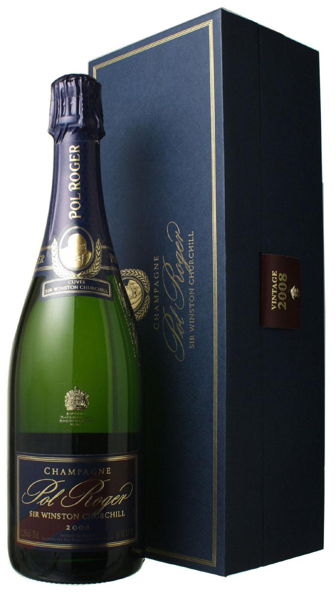 ポル・ロジェ キュヴェ・サー・ウィンストン・チャーチル [2008] <白> <ワイン/シャンパン>