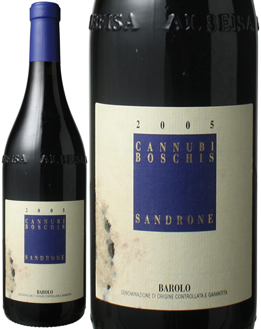 バローロ カンヌビ・ボスキス [2005] ルチアーノ・サンドローネ <赤> <ワイン/イタリア>