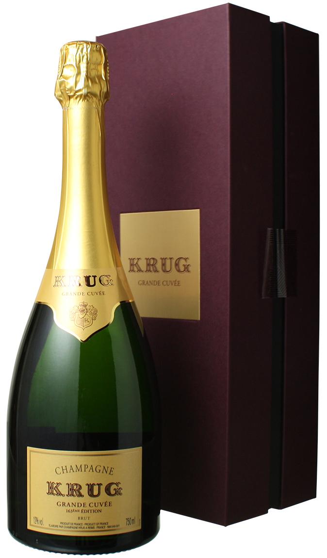 クリュッグ グラン・キュヴェ エディション163 ギフトボックス入り NV <白> <ワイン/シャンパン>