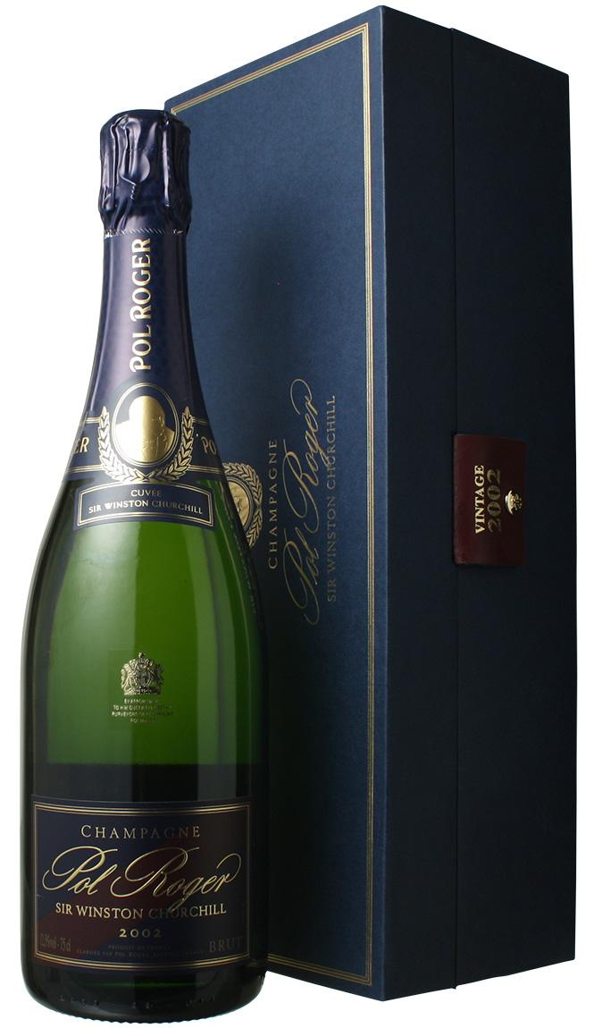 ポル・ロジェ キュヴェ・サー・ウィンストン・チャーチル [2002] <白> <ワイン/シャンパン>