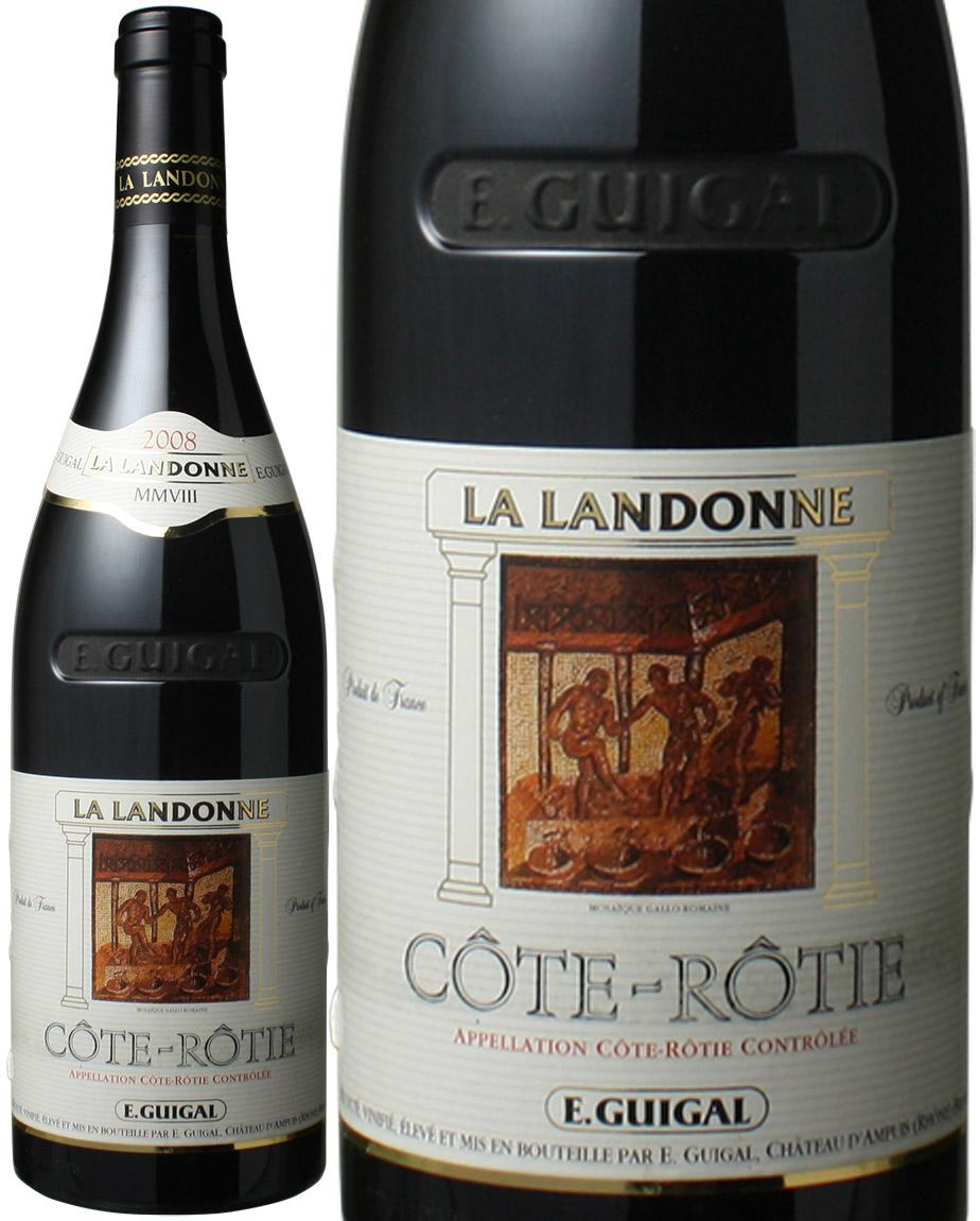 コート・ロティ ラ・ランドンヌ [2008] ギガル <赤> <ワイン/ローヌ>