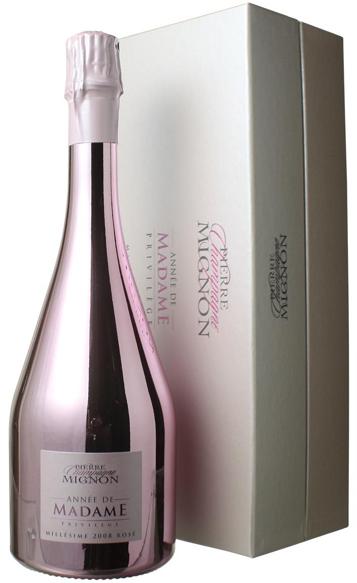 『4年保証』 ピエール・ミニョン ロゼ アネ・ド・マダム [2008] <ロゼ> <ワイン/シャンパン>, 藤橋村 b9a3ae08