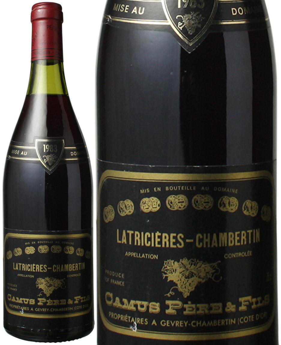 ラトリシエール・シャンベルタン [1983] <赤> カミュ ペール・エ・フィス カミュ <赤> <ワイン/ブルゴーニュ>, 生駒市:e1b6ba72 --- per-ros.com