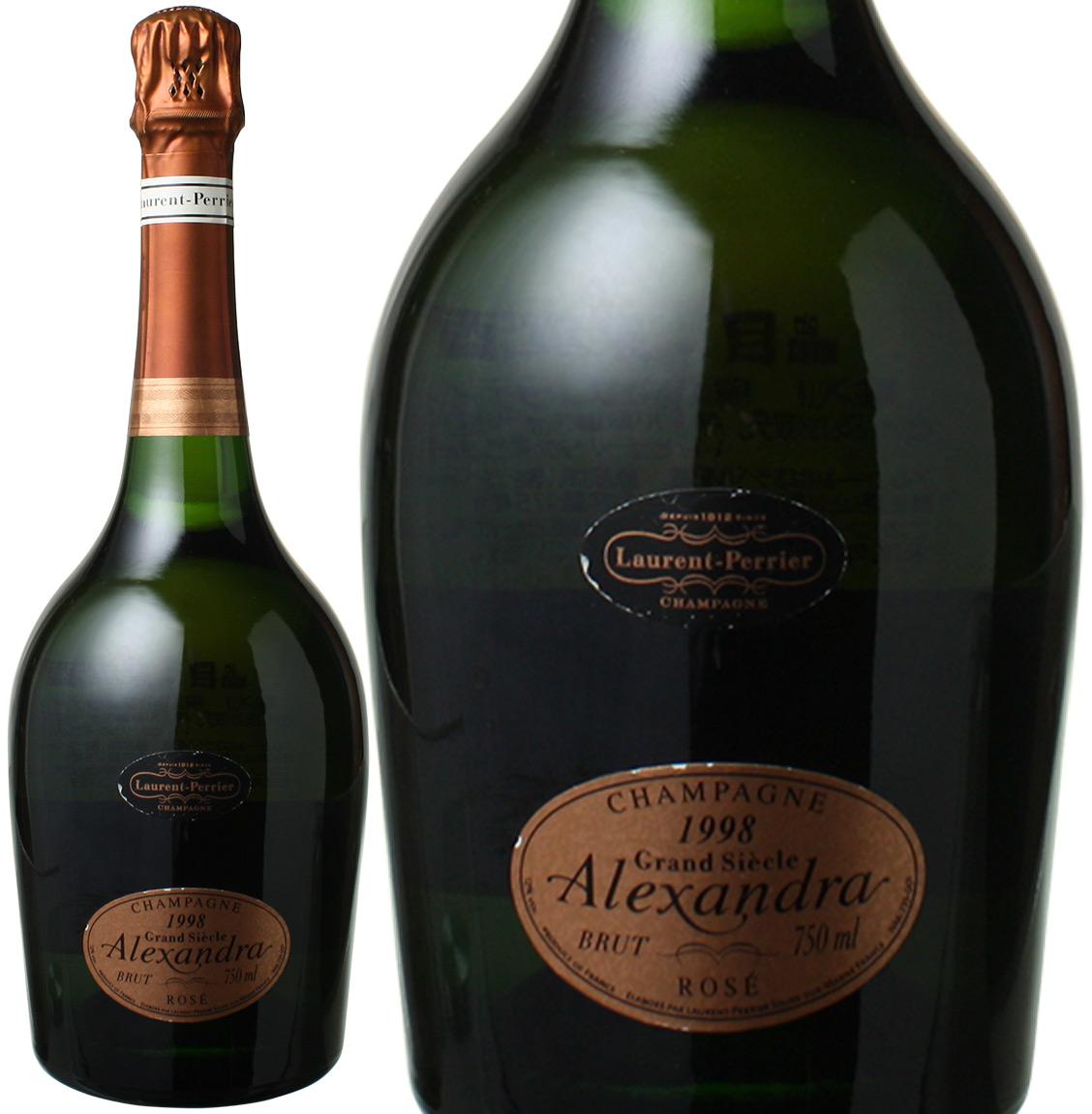 ローラン・ペリエ グラン・シェクル アレクサンドラ・ロゼ [1998] <ロゼ> <ワイン/シャンパン>