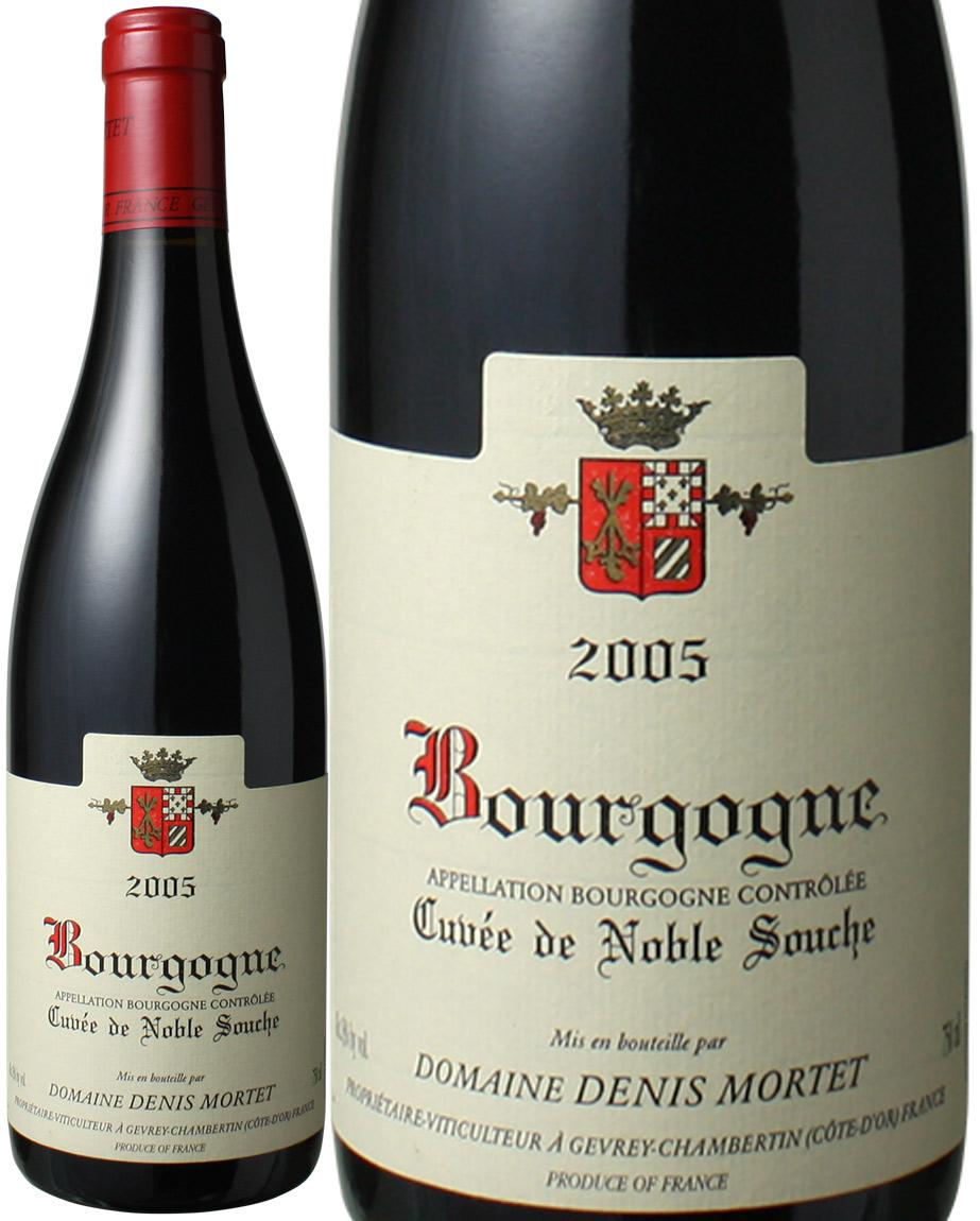 ブルゴーニュ・ルージュ キュヴェ・ド・ノーブル・スーシュ  [2005] ドニ・モルテ <赤> <ワイン/ブルゴーニュ>