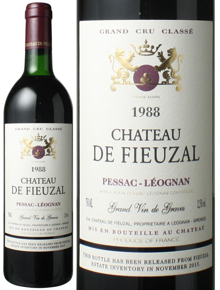 【プレミアム特価】シャトー・ド・フューザル [1988] <赤> <ワイン/ボルドー>