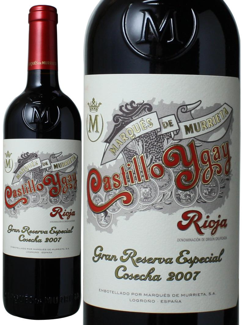 カスティーリョ・イガイ グラン・レセルヴァ・エスペシャル [2007] マルケス・デ・ムリエタ  <赤> <ワイン/スペイン>