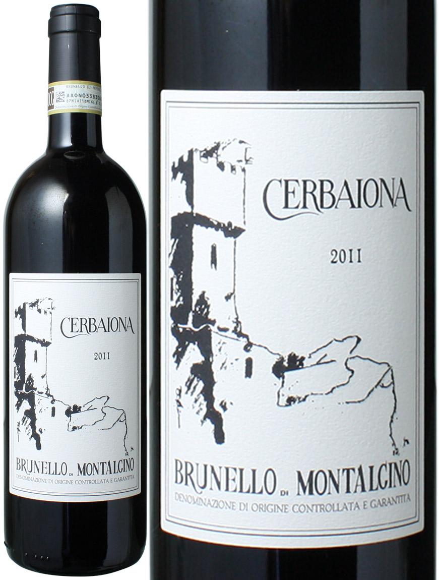 ブルネッロ・ディ・モンタルチーノ  [2011] チェルバイオーナ <赤> <ワイン/イタリア>