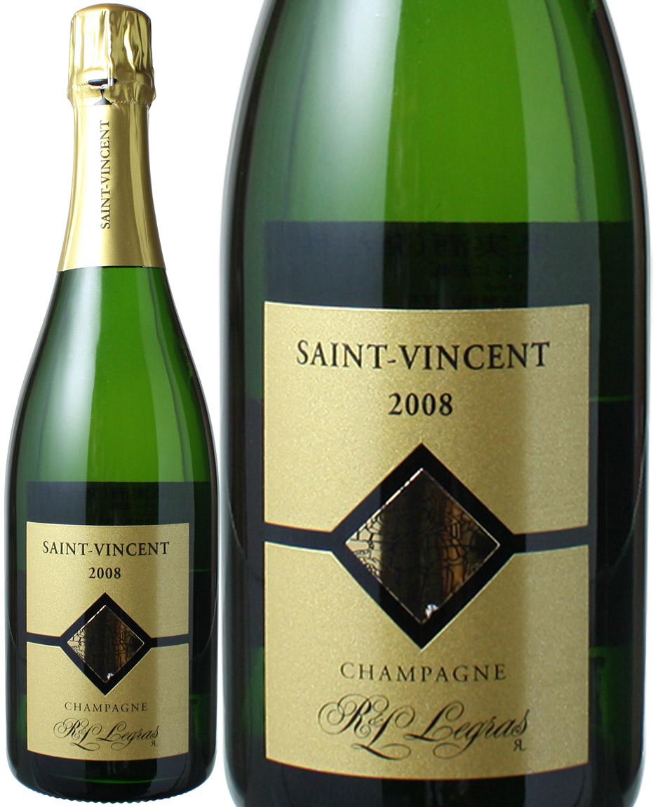 R&L ルグラ キュヴェ・エクセプショネル サン・ヴァンサン グラン・クリュ [2008] <白> <ワイン/シャンパン>