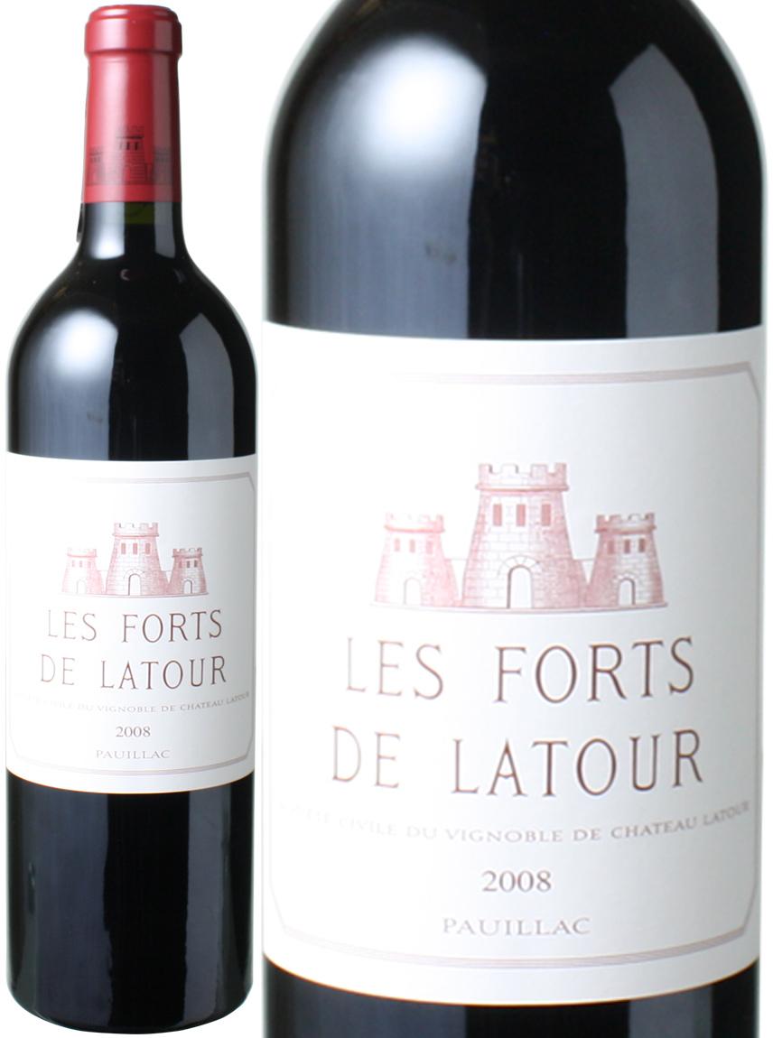 レ・フォール・ド・ラトゥール [2008] <赤> <ワイン/ボルドー>