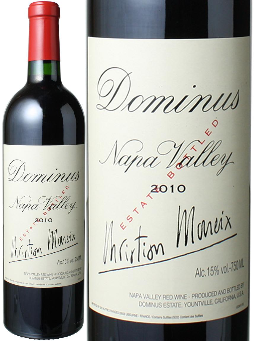 ドミナス  [2010] ドミナス・エステート <赤> <ワイン/アメリカ>
