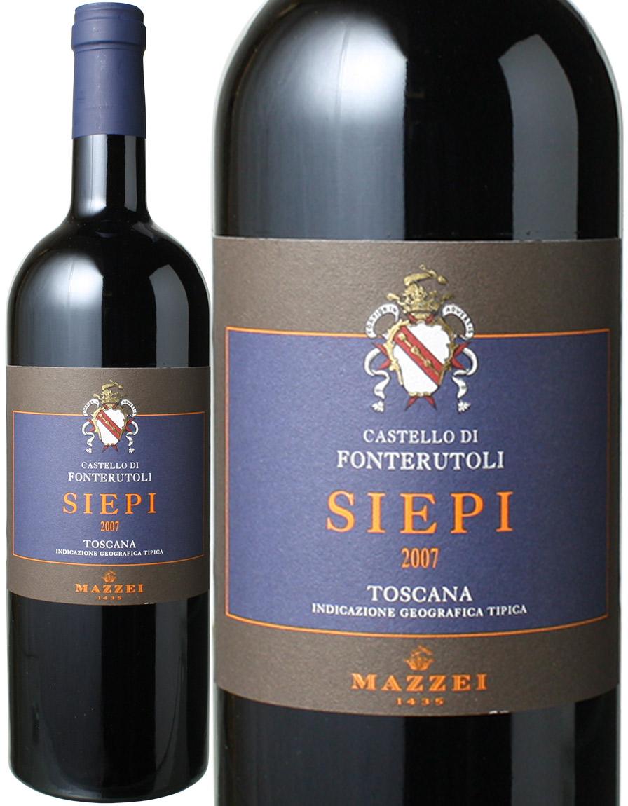 シエピ [2007] フォンテルートリ <赤> <ワイン/イタリア>