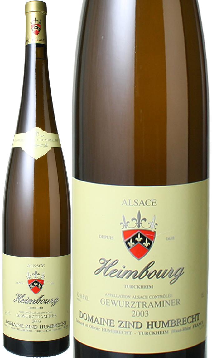 ゲヴュルツトラミネール ヘングスト マグナム1.5L [2003] ツィント・フンブレヒト <白> <ワイン/アルザス>