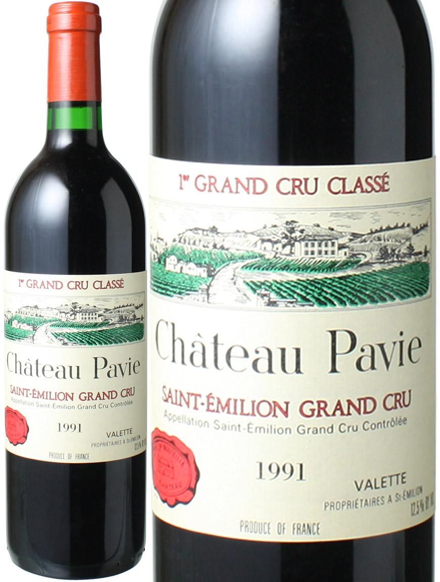 シャトー・パヴィ   [1991] <赤> <ワイン/ボルドー>