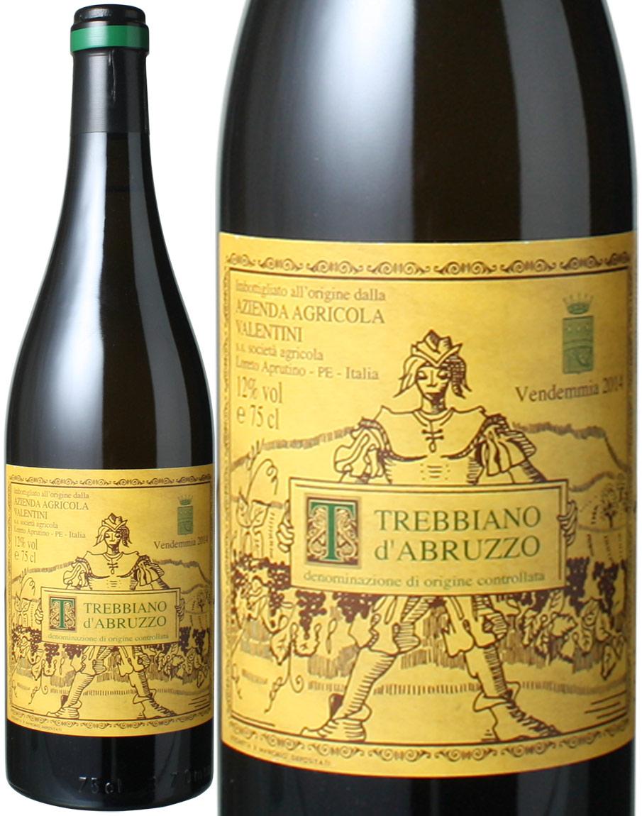 トレッビアーノ・ダブルッツオ [2014] ヴァレンティーニ <白> <ワイン/イタリア>