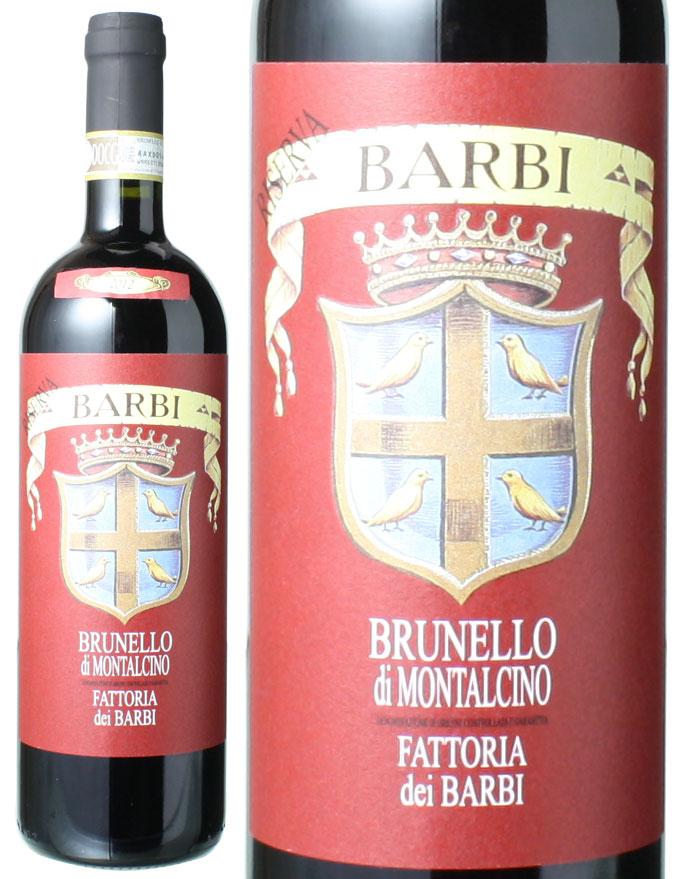 ブルネッロ・ディ・モンタルチーノ リゼルヴァ [2012] ファットリア・ディ・バルビ <赤> <ワイン/イタリア>