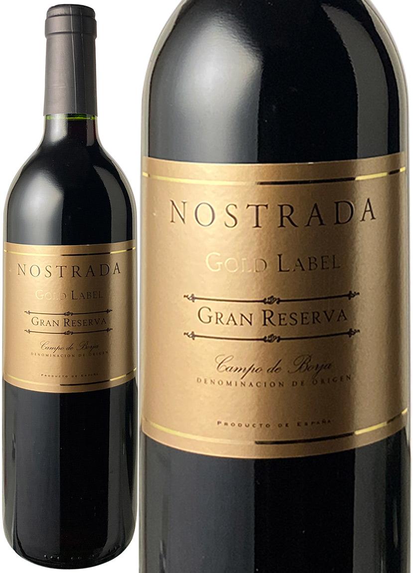 売り込み ノストラーダ グラン レゼルバ ゴールド ラベル 2000 宅送 赤 ワイン スペイン
