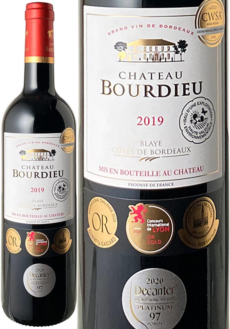 シャトー ブルデュー 2019 ボルドー 赤 ワイン 返品交換不可 大決算セール