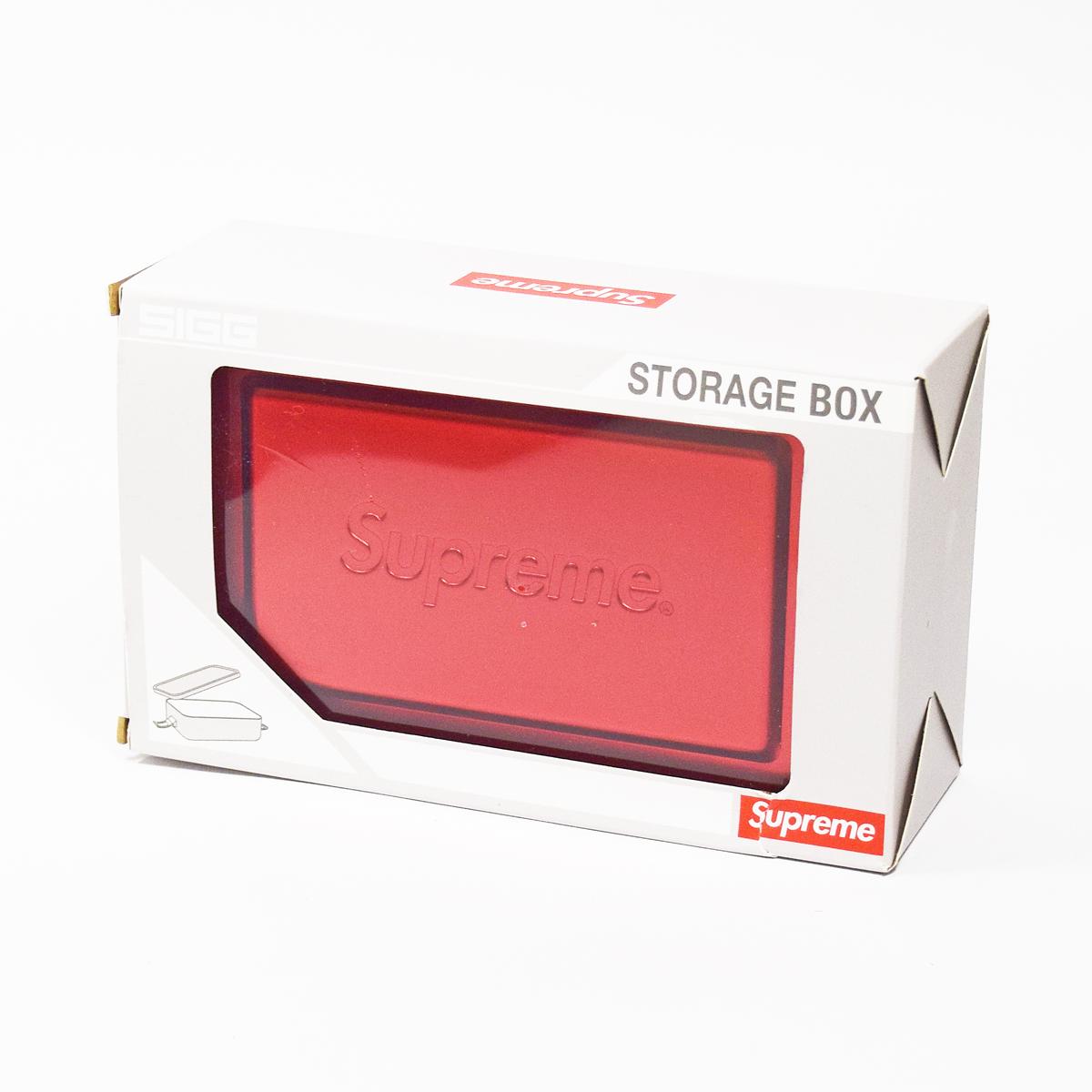 【新品】Supreme シュプリーム Storage Box ストレージボックス レッド ラージ【送料無料】【代引き手数料無料】 赤 弁当箱 31530720