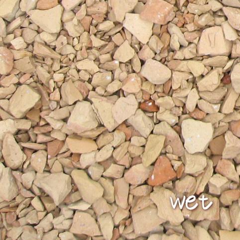 送料無料 環境配慮 防犯対策にも きれいな砂利でお庭が変わります 20kg レンガの砂利 サーモンベージュクラッシュブリック 20kg×1袋 在庫一掃 5cm厚で約0.36平米分 60cm×60cm程度 日本限定 北海道 レンガチップ レンガ砕石 駐車場 植え込み 大量 庭 アプローチ 沖縄は送料がかかります 砂利 花壇
