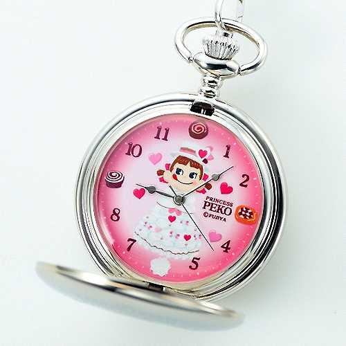 プリンセスペコちゃん懐中時計YEAR'S 2013【新品同様品】