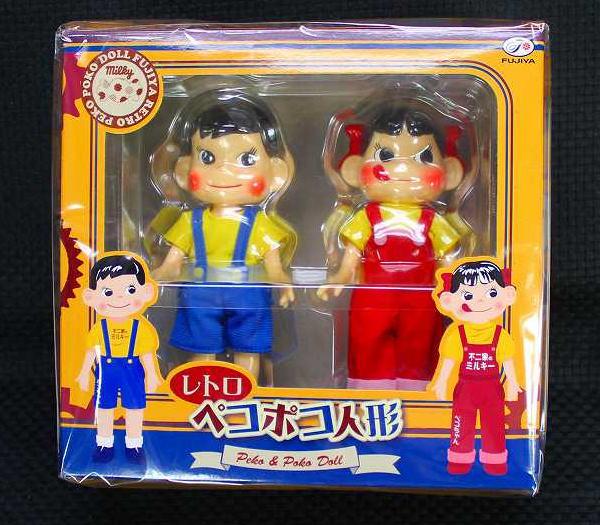 レトロペコポコ人形【新品同様品】