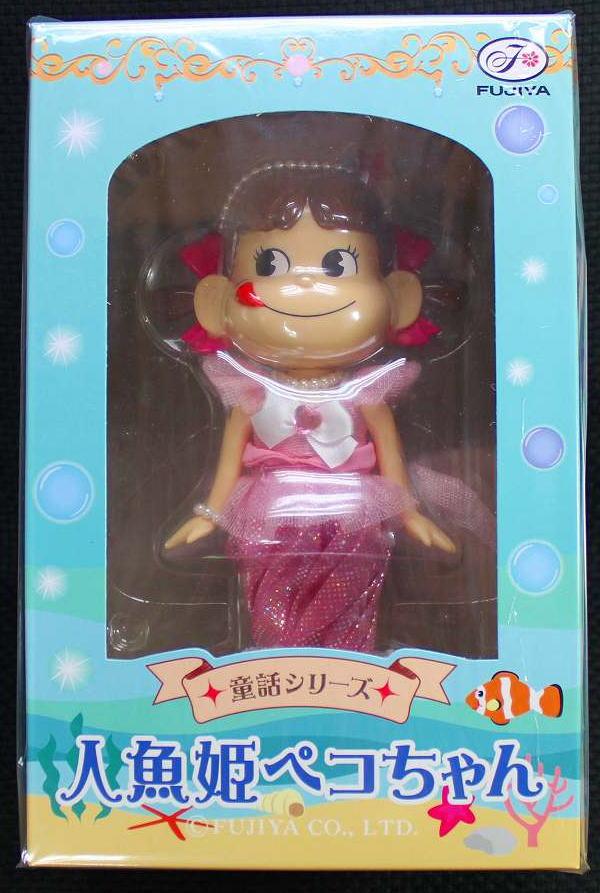 ペコちゃん童話シリーズ人魚姫ペコちゃん人形【新品同様品】