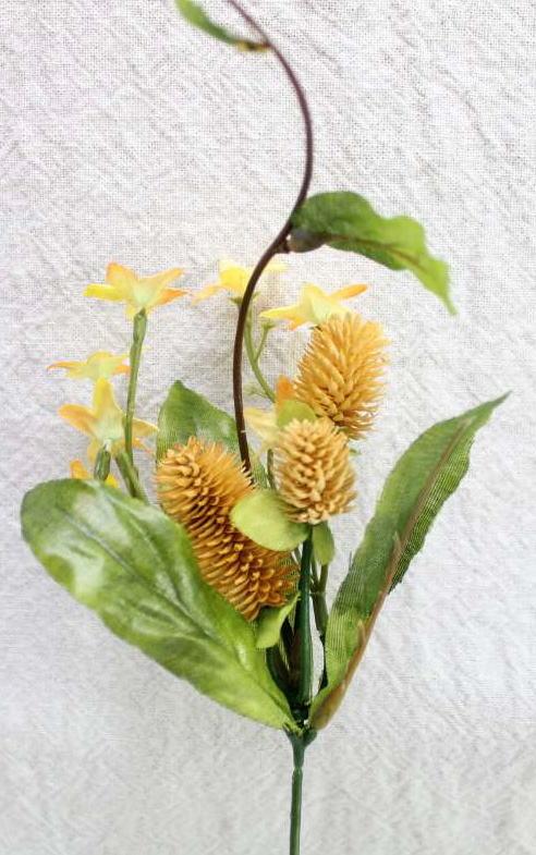 実付き小花L.T.YELLOW 豊富な品 毎日続々入荷