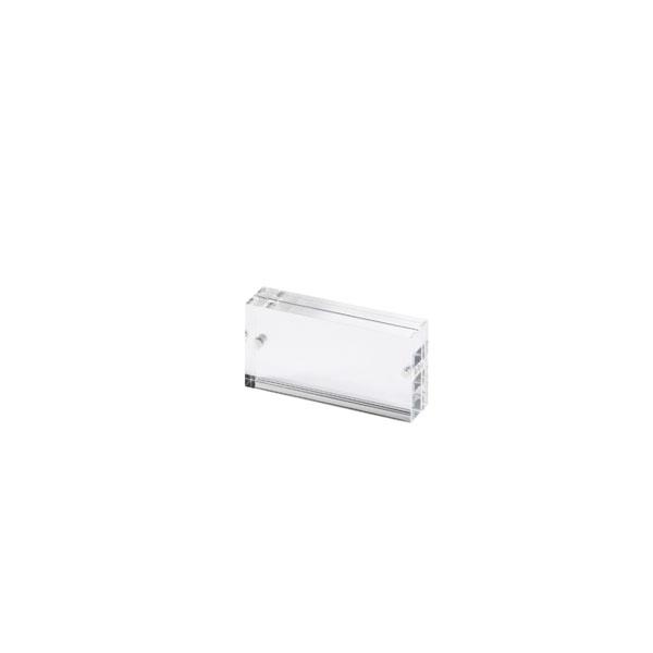 アクリル ポップ プライス ディスプレイツール ランキングTOP5 アクリルマグネットフレーム 国内正規総代理店アイテム ダブルフェイス OPA-1001W50×H25×T13mm 8mm Double 5mm Face