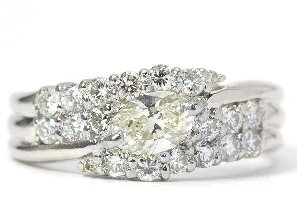【VLY/VS-2 0.449ct!!】ダイヤモンドリング 0.68ct Pt900 12号 約7.1g 指輪 ソーティング付き 92657【中古】
