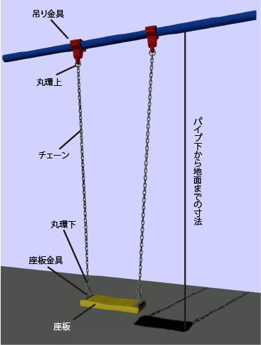 芸能人愛用 ブランコ補修部品:タンデム-DIY・工具