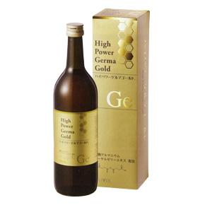 ハイパワーゲルマゴールド 1箱(720ml)ハイゲルハニーゴールドが新しくなりました! 健康な毎日をサポート