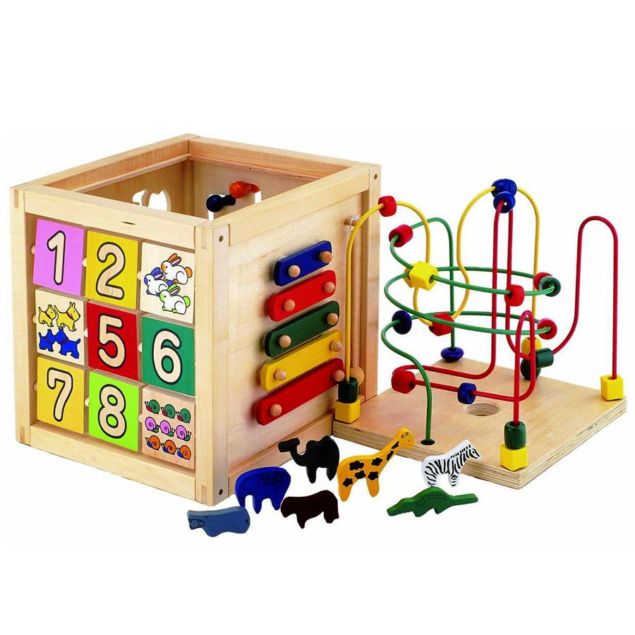 木のおもちゃ 遊び箱(1.5歳~)プレゼントに♪※北海道、離島は別途送料がかかる場合がございます